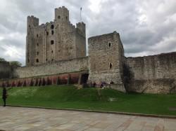 Rochester Castle, Rochester, Kent, UK